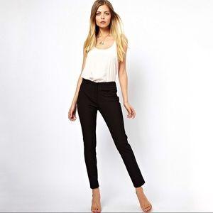 H&M High Waisted Black Dress Pants Work Slacks 2